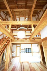 大工が作る伝統的な家(足利市 K邸)